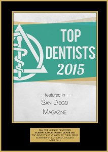 Top Dentists 2015 Awatd